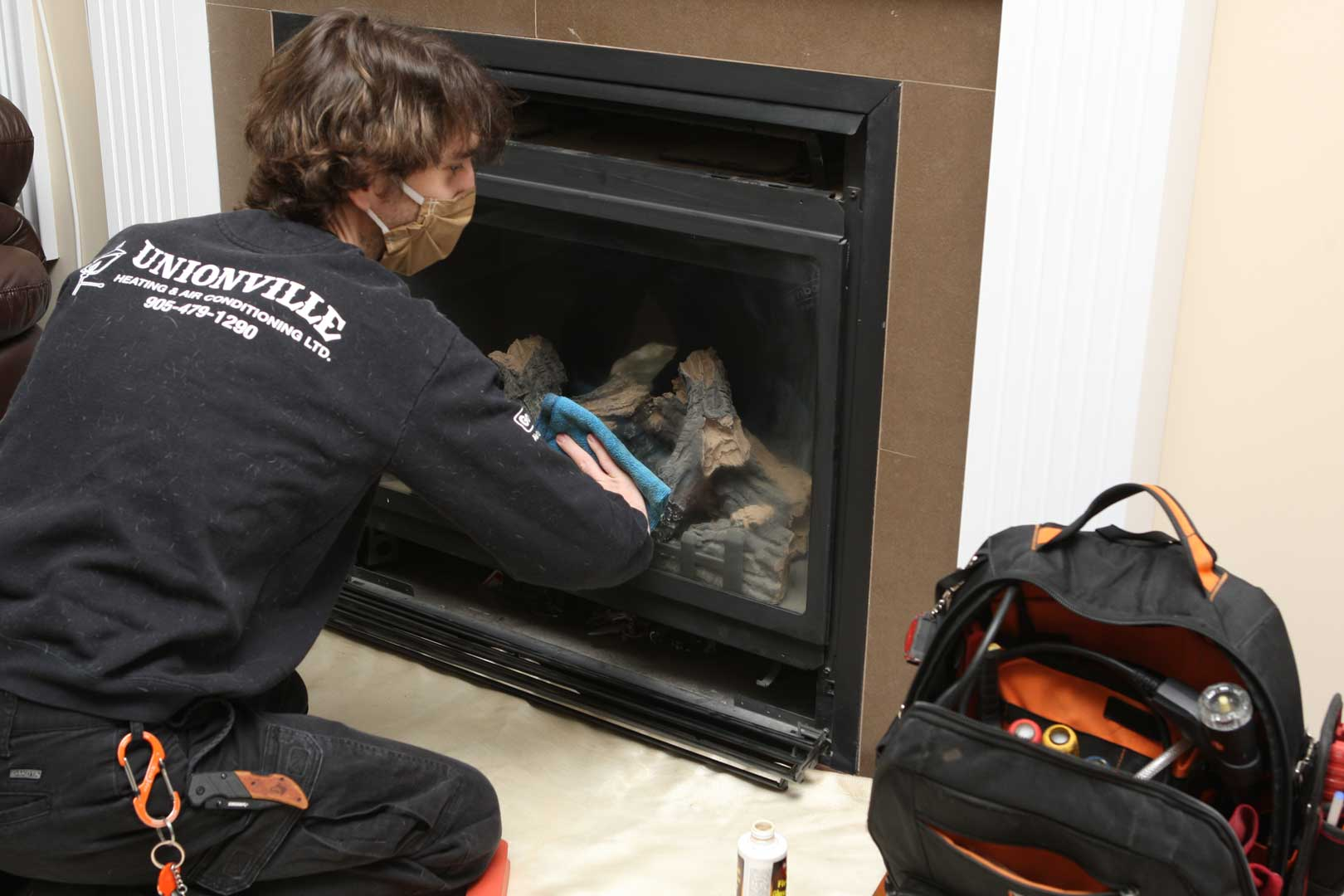 Gas Fireplace Maintenance and Repair - Unionville Heating