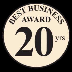 Unionville Heating Best Business Award 20yrs