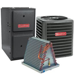 Goodman Furnace Air Conditioner and coil bundle